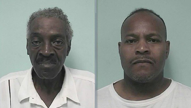 Mug shots of Cleamous Mitchell, 72, and Frankie Sherman, 54. (Springfield PD)