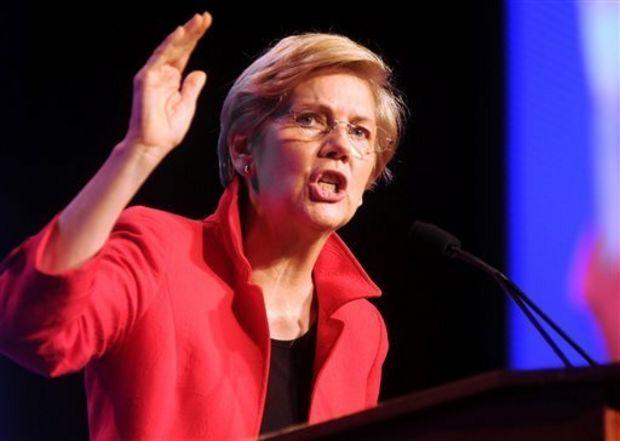 Senator Elizabeth Warren, D-MA. (Source: MassLive)