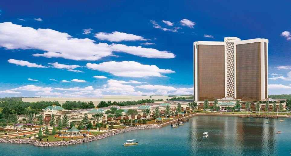 A rendering of the $1.6 billion proposal for a resort and casino in Everett.