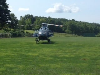 The Massachusetts State Police Airwing Unit was used in the search for the 38-year-old Greenfield resident who went missing last month.