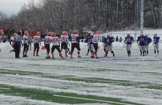 Agawam plays West Springfield at Clark Field in West Springfield.