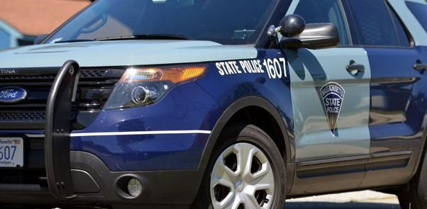A Belchertown man was killed in a head-on collission in New Salem on Tuesday afternoon.