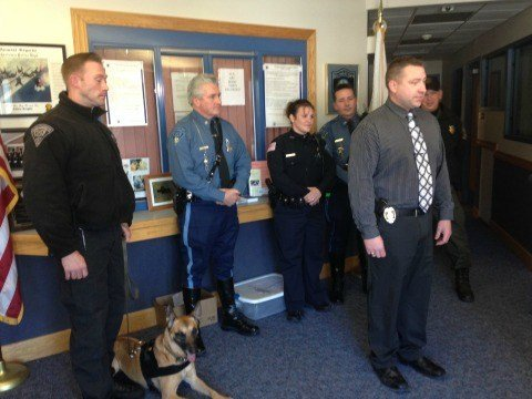 State and local police held a press conference regarding the missing Belchertown teen on Tuesday afternoon.