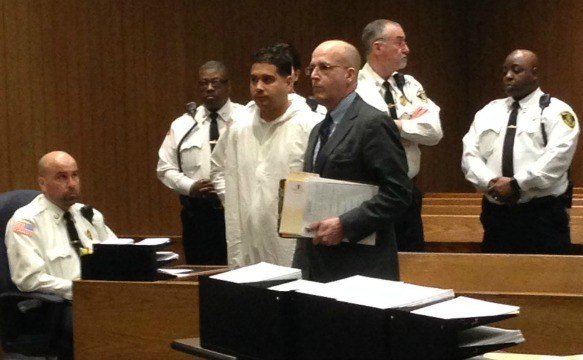 Jose Ramos, 34, was arraigned in Springfield District Court on Wednesday in connection with the stabbing death of 26-year-old Luis Sanchez.