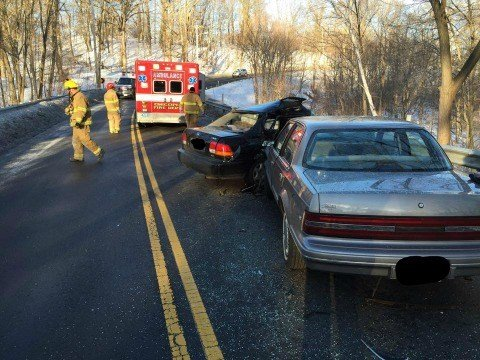 A fatal car accident occurred on Abbey Memorial Road in Chicopee on Thursday morning. (CPD)
