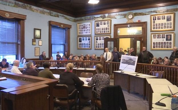 Those 'for' and 'against' the proposed Polish Heritage District attended the Ordinance Committee meeting on Tuesday. The vote (4-1) moved the district to the next Holyoke City Council meeting.