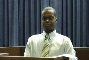 Emmanuel Bile in Hampshire County Superior Court.