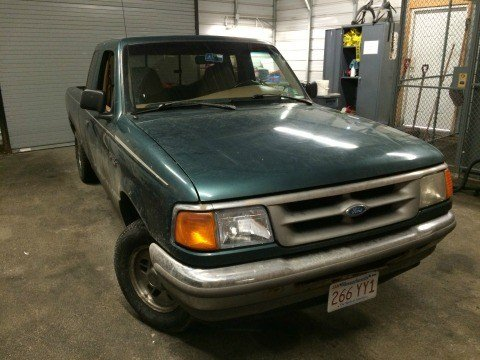 The late model Ford Ranger that police say was used in the break-ins. (Source: GPD)