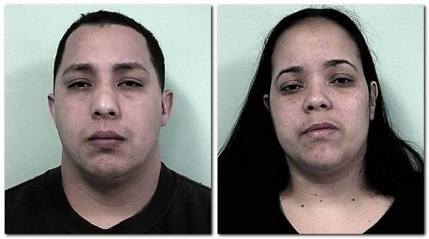 Jose Carrasquillo and Jennifer Rodriguez, both of Springfield, were arrested by Springfield police and charged with extortion by threat of injury in Jan. 2014.