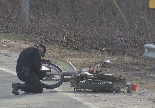 State police investigating a fatal motorcycle accident that took place on Route 66 in Westhampton on Monday afternoon.