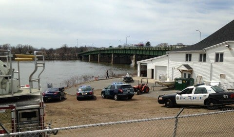 State and local police are searching for the two jumpers.