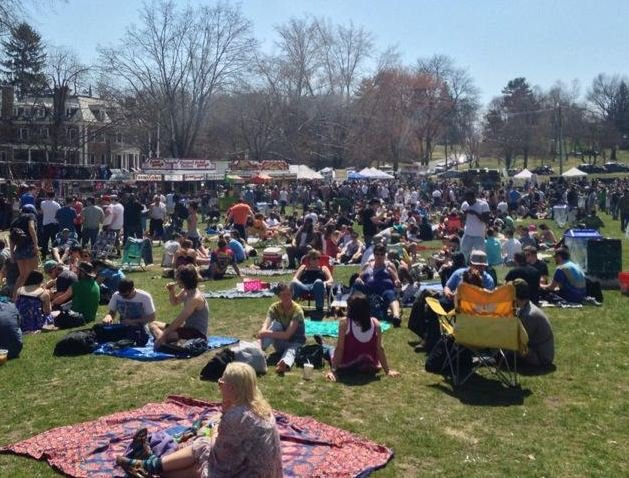 24th annual Extravaganja took over the town common in Amherst on Saturday