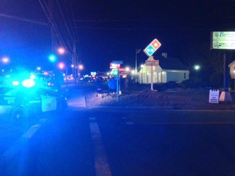 Chicopee police closed Jamrog Road following a gas leak.