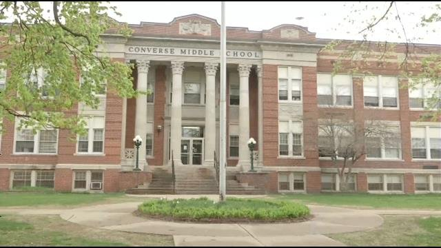 Converse Middle School in Palmer (Western Mass News file photo)