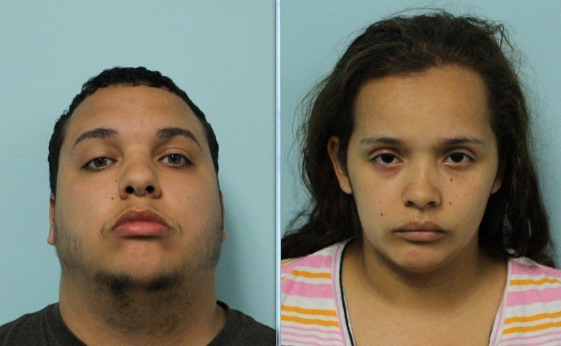 Police seized more than $22,000 from a married couple, Benjamin and Jasmine Rodriguez, living at 90 Athol St. in Springfield. (Source: SPD)