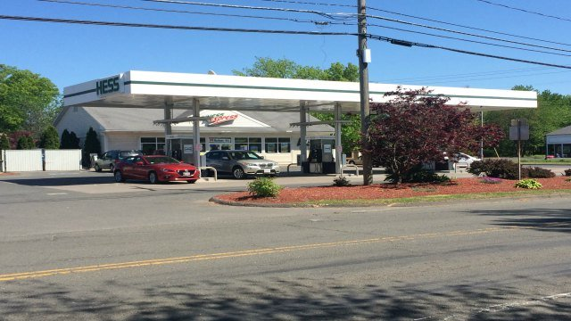 A 36-year-old man was discovered dead in a restroom inside of the Hess Station on West Street in Amherst.