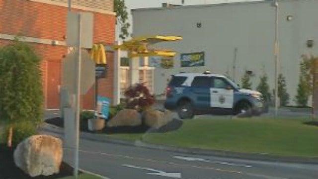 Chicopee police on scene