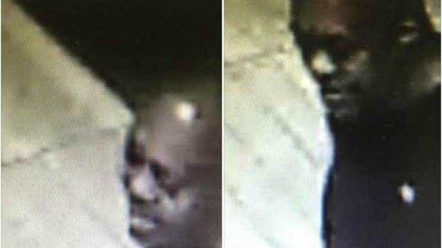 Photos of suspect who robbed McDonald's
