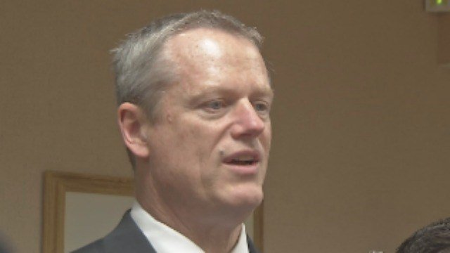 Mass. Governor Charlie Baker (Western Mass News photo)