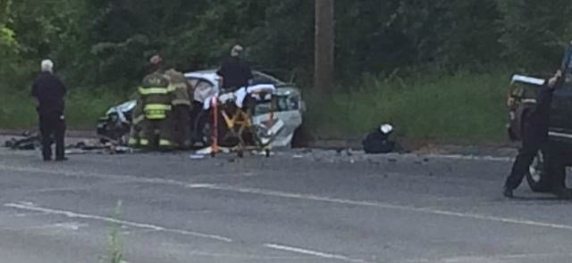 Roosevelt Ave. crash