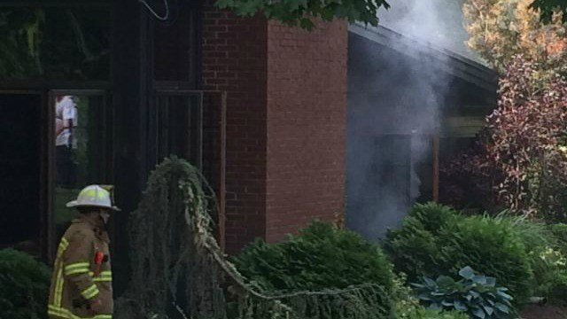 Fire at 203 Ontario Ave. home