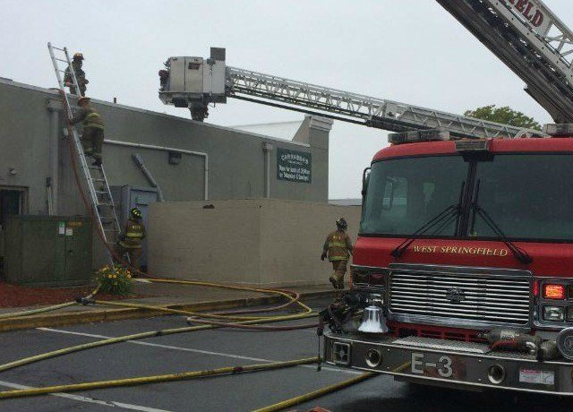 (Fire crews at Carrabba's in West Springfield)