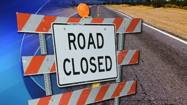 Root Road in Westfield was closed shortly before 8 p.m.