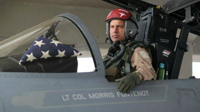 Lt. Col. Morris Fontenot (Photo provided by 104th Fighter Wing/File)