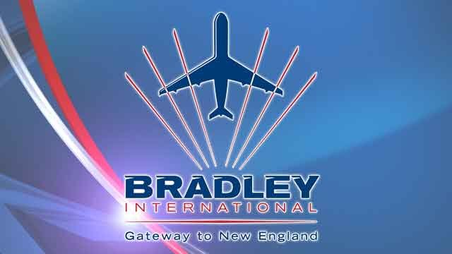 (Western Mass News image / Logo: Bradley Airport)